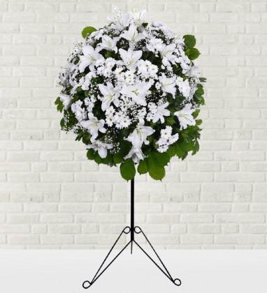 Açılış Ferforje Çiçek Aranjmanı